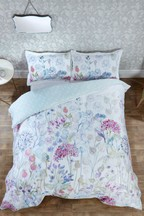 Voyage Hedgerow Floral Cotton Duvet Cover