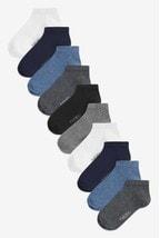 Cotton Rich Trainer Socks Ten Pack (Older)