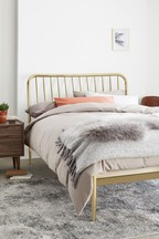 Loxley Metal Bed