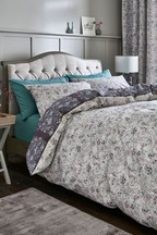 2 Pack Ditsy Floral Duvet Cover and Pillowcase Set