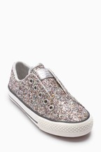 Glitter Laceless Trainers (Older)