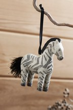 Ziggy The Zebra Hanging Decoration