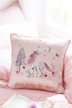 Magical Woodland Unicorn Cushion