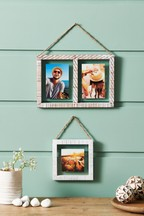 Set of 3 Floating Wood Frames