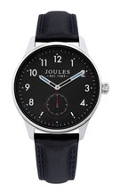 Joules Black Strap Watch