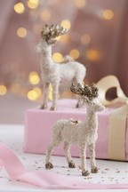 Set of 2 Stag Baubles