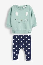 Bunny Sweater And Leggings Set (0mths-2yrs)