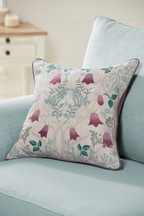 Aubrey Mirror Floral Cushion