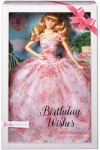 Barbie Collector Birthday Wishes Doll With Blonde Hair