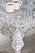 Wipe Clean Tile Print Tablecloth