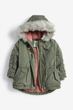 Shower Resistant Parka Coat (3mths-7yrs)