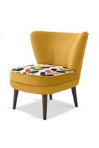 Orla Kiely Nina Chair with Walnut Legs