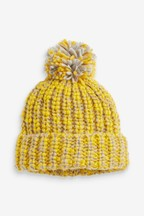 Knitted Pom Hat