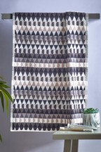 Geo Stripe Towels