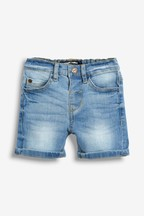Denim Shorts With Stretch (3mths-7yrs)