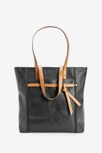 Knot Detail Shopper Bag