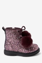 Chunky Lace-Up Boots (Younger)