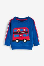 Bus Appliqué Crew (3mths-7yrs)