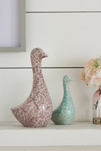 Set of 2 Ceramic Ducks