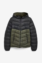 Hooded Quilt Jacket With DuPont™