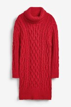 Cable Jumper Dress (3-16yrs)