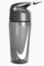 Nike Black Hypercharge 16oz Straw Water Bottle
