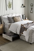 Hartford Sleigh Two Drawer Bed