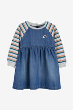 Rainbow Sleeve Dress (3mths-7yrs)
