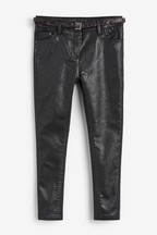 Sparkle Belted Skinny Jeans (3-16yrs)