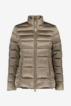 Barbour® Tartan Mink Luxe Lawers Quilted Jacket