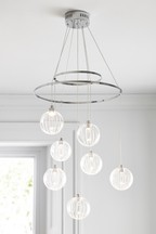Satellite 7 Light Chandelier