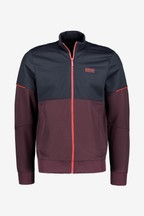 Barbour® International Burgundy Flow Track Jacket
