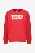 Levi's® Red Batwing Logo Sweat