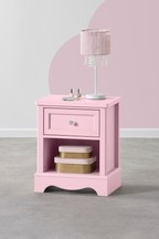 Amelia 1 Drawer Bedside Table