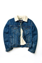 Denim Borg Western Jacket