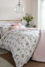 Set of 2 Cabbages & Roses Clementine Floral Pillowcases