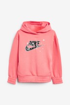 Nike Little Kids Pink Starry Night Overhead Hoody