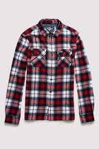 Superdry White Lumberjack Shirt