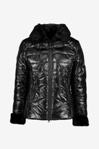 Barbour® International Premium Black Hyde Quilted Jacket