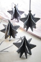 Set of 4 Star Baubles