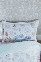 Voyage Hedgerow Floral Cotton Oxford Pillowcase