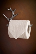 Antler Toilet Roll Holder