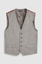 Empire Mills Signature British Wool Suit: Waistcoat