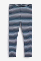 Rib Stripe Leggings (3-16yrs)