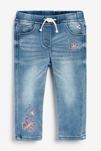 Butterfly Detail Pull-On Jeans (3mths-7yrs)