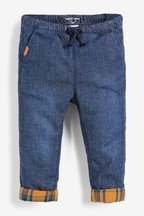 Pull-On Lined Jeans (3mths-7yrs)