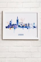 Favourite City by Summer Thornton Framed Print