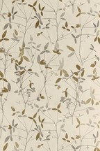 Paste The Wall Earthed Leaf Wallpaper Sample
