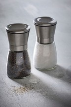 Stainless Steel Salt And Pepper Set