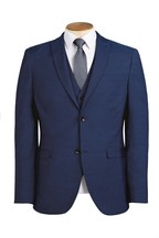Tollegno Signature Textured Stretch Suit: Jacket